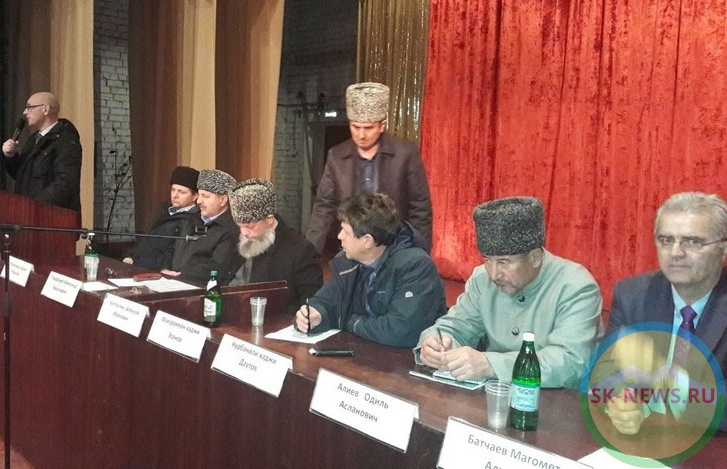 Отправления культовых обрядов обсудили на совещании Духовного управления мусульман Ставрополья