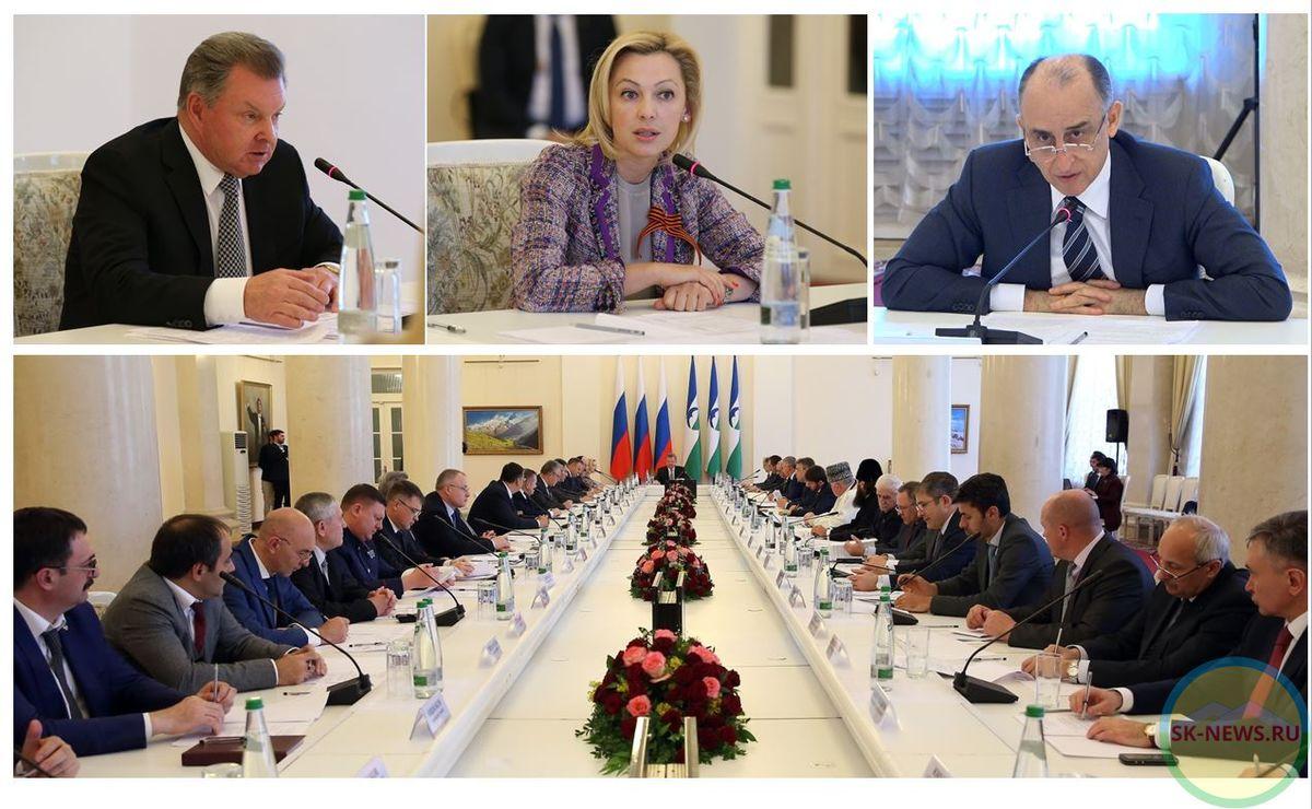 ВНальчике состоялось совещание Совета при полномочном представителе Президента Российской Федерации вСКФО